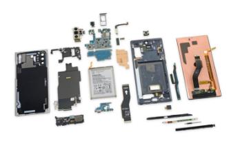 Galaxy Note 10+ 5G版拆解:LPDDR4X+eUF...