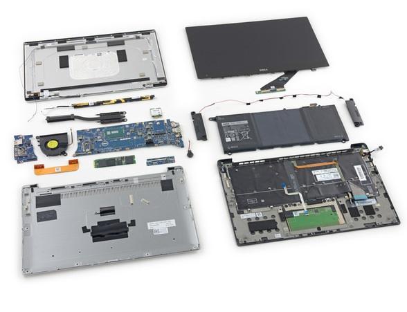 戴尔5559电脑拆卸步骤图解