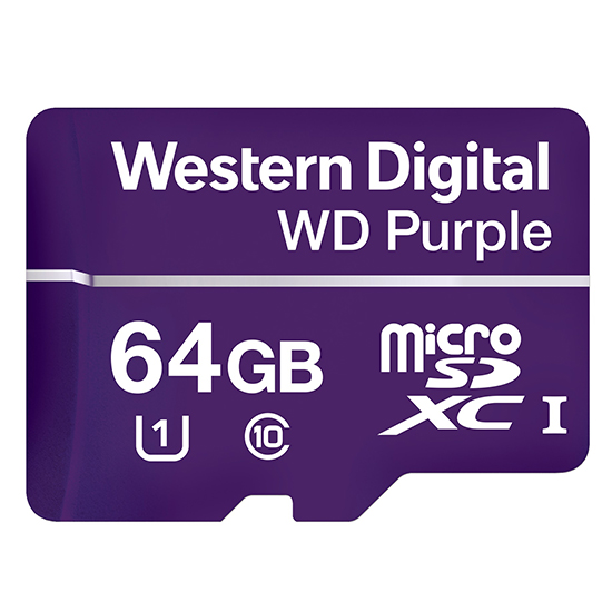 WD监控系列MicroSD卡