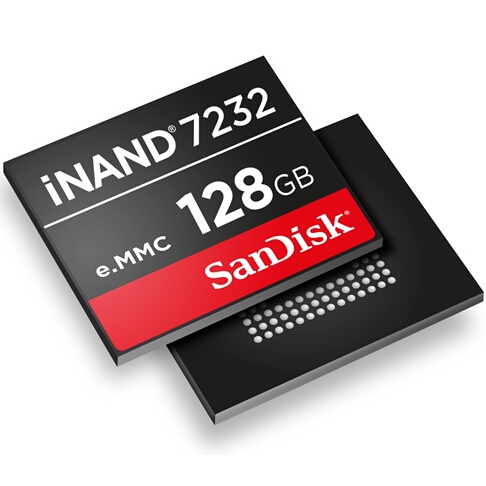 Sandisk iNAND 7232系列